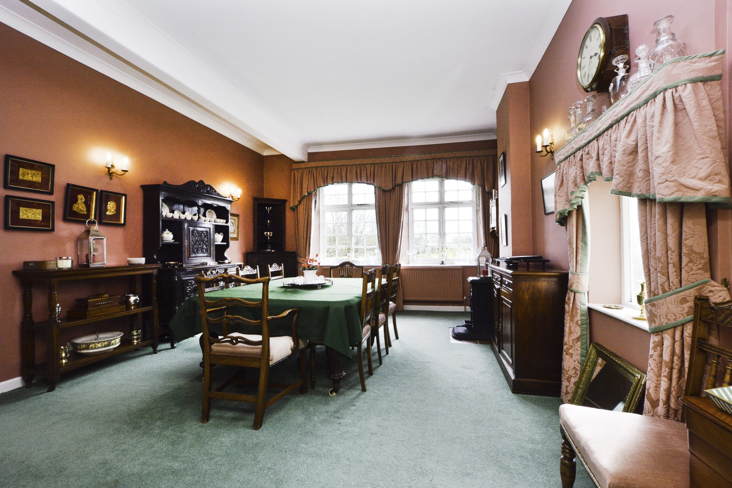 The Old School Bed and Breakfast Dining Room