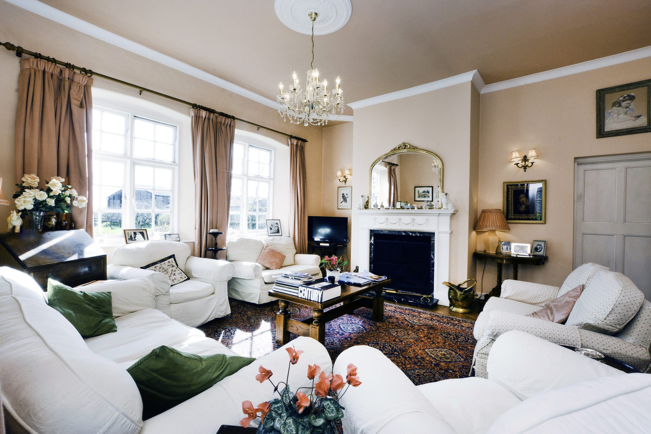 The Old School Bed and Breakfast Drawing Room